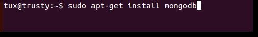 installing mongodb on ubuntu 14.04